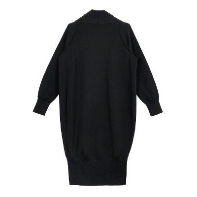 long blouson black